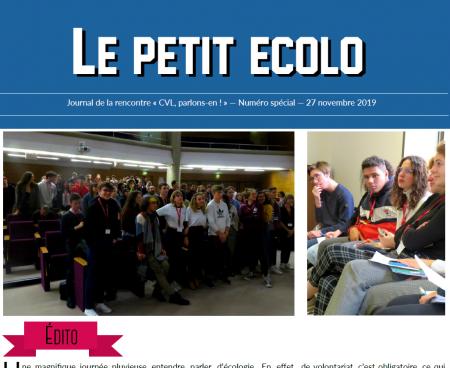 """Nouvelle-Aquitaine : """"Conseil de vie lycéenne, parlons-en""""… avec le journal Le Petit Ecolo"""