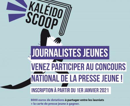 Concours Kaléïdo'Scoop : la parole est aux lauréats 2020 dans «Kal, & vous»
